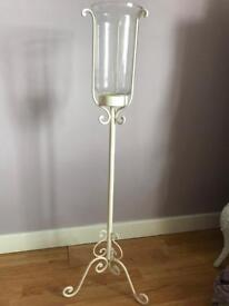 Metal candle holder £10 each (two available)