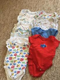 First size and new born baby boy bundle