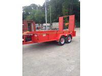 7.5 ton mac plant trailer