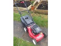 Lawnmower. Mountfield SP470 petrol lawn mower.