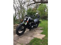 Honda Shadow VT750 Black Spirit 2013