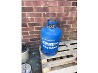 15kg butane bottle 1/3 full