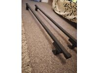 Summit roof bars (roof rails roof rack) used on vauxhall but will fit other vw ford peugeot audi