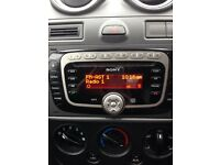 Sony Ford Fiesta car stereo