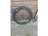 29inch rear wheel with new maxxis tire