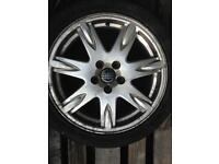 "Volvo Alloy Wheel 17"" 7 spoke 1 wheel no tyre"