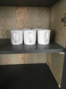 Vintage Cabinet Hutch Bar