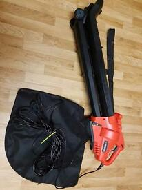 Garden vacuum blower new with collection bag