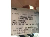 2x Russell Howard tickets for 21st march SSE HYDRO