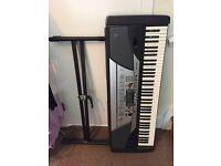 Used Yamaha PSR-GX76 Keyboard & Stand