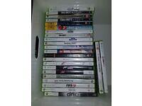 Xbox 360 Slim. 24 games.