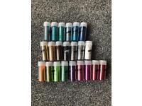 Wow glitters for nail tech manicure craft