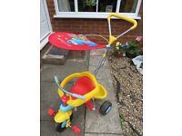 Toddler Little Tikes 3 in 1 trike tricycle