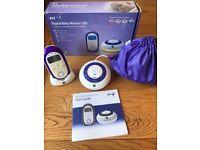 BT 250 Digital Baby Monitor Used in Box