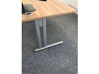 Oak surface office desks
