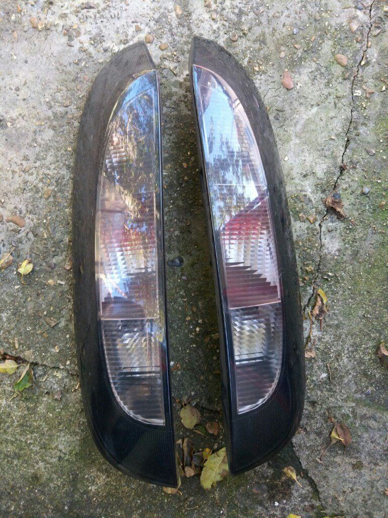 * * * vauxhall Corsa C Tinted black rear lights 2001-2006 smoked fits 3dr and 5dr models * * *