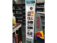 Efficold slim commercial fridge.