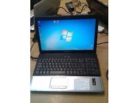 Compaq Pressario CQ60, Laptop PC, AMD Athlon 64 x 2 @ 2.1 GHz, Windows 7 Home Premium