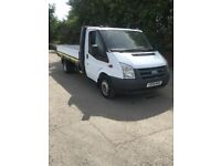 2009 59 ford transit 115 t350 2.4 tdci 6speed 12ft drop side pickup