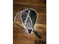 Dunlop Biotec TI squash racquet