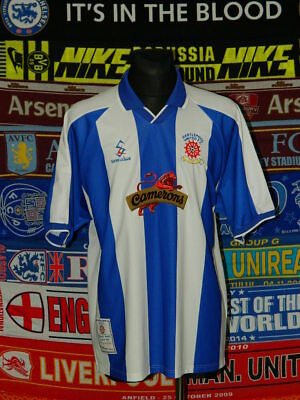 5/5 Hartlepool United adults XXL 1999 football shirt jersey trikot  image
