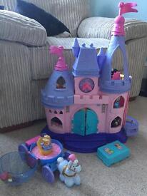 Disney little people castle