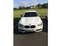BMW 118d Sport White