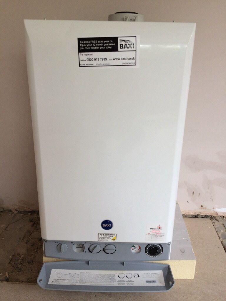 Combi gas boiler baxi duo tec 33 he includes manual used for Manuale baxi duo tec