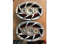 Pair of 6x9 ministry of sound speakers