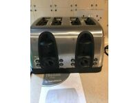 Sainsburys 4 Slice Chrome Toaster £5