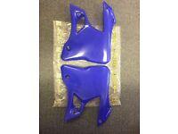 Acerbis Yamaha Radiator Panels, Shrouds, Plates Yz125 Yz250 1996 - 2001