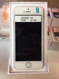 IPhone 5s, 16gb, EE, silver