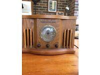 Vintage/Retro Style stereo CD/Radio player.
