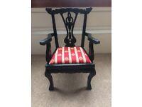 Queen Anne Style Dolls Chair