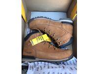 Dewalt steel toecap work boots brand new