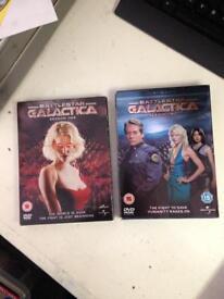 Battlestar Galactica Season 1 and 2 DVD Boxset Complete TV Show
