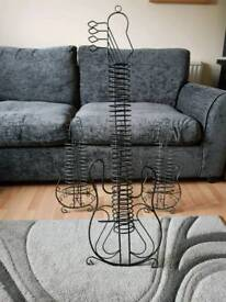 Guitar style CD stands
