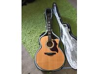 Mint condition,Takamine G series acoustic guitar for sale, model number EG523SC, hard case included
