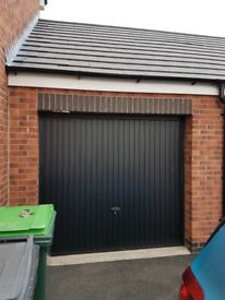 Garage up and over door £100