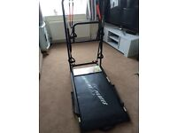Large Pilates machine with DVDs