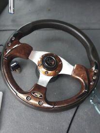 Toyota 4x4 steering wheel