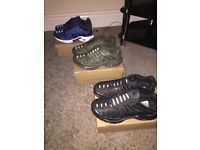 Nike trainers different colours £40