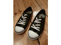 Women's Leather Converse, UK size 4/EU 37