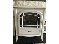 Dimplex white electric fire (spares or repair)