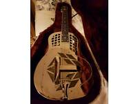 National mark resonator guitar