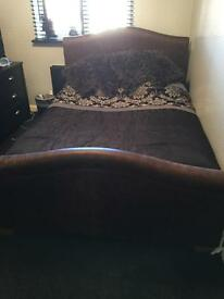 """Double bed leather 4 """"6"""
