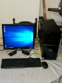 Dell Vostro 220 Quad Core Multimedia PC System for Sale.