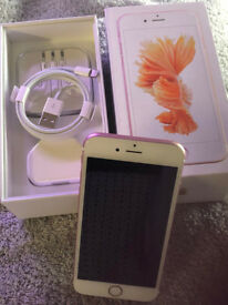 iphone 6s 16gb Rose Gold Unlocked, no scratches, cracks or dents