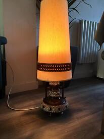 Retro Vintage lamp light, 70's