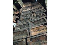 Bricks - Reclaimed from patio